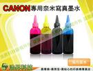 CANON 250CC 防水黑色+250CC四色各一寫真型(適用所有CANON連續供墨系統印表機機型) 分離型專用