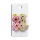 髮帶-小熊與花(2枚)