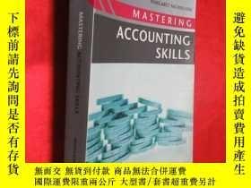 二手書博民逛書店Mastering罕見Accounting Skills ( 1