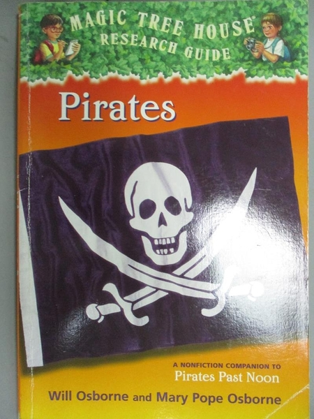 【書寶二手書T9/原文小說_JMK】Pirates: A Nonfiction Companion to Magic T
