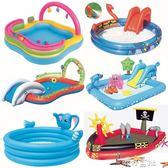 充氣娛樂海洋球池嬰兒戲水池嬰幼兒童游泳池加厚釣魚沙池波波玩具.igo 港仔會社