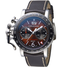GRAHAM格林漢Chronofighter Vintage GMT腕錶 2CVBC.C01A.L126S