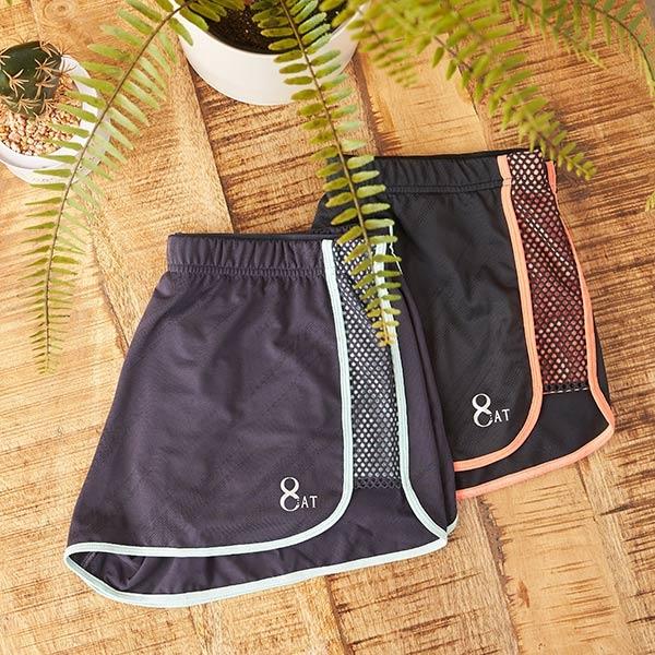 【8:AT 】短褲 M-XL (摩登灰)(未滿2件恕無法出貨,退貨需整筆退)