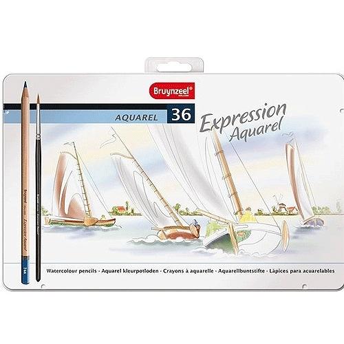 荷蘭製Bruynzeel Expression Aquarel 專家級36色水性色鉛筆*7735M36