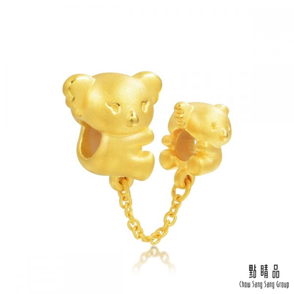 點睛品 Charme 幸福無尾熊 黃金串珠