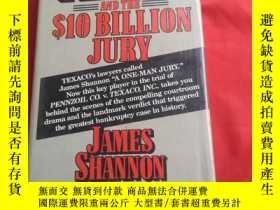二手書博民逛書店TEXACO罕見AND THE 10 BILLION JURYY179070 TEXACO AND THE 1