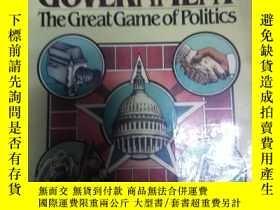 二手書博民逛書店American罕見Government--the great