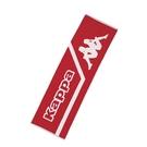 KAPPA義大利休閒慢跑運動緹花毛巾 紅 白色 304TTXD969