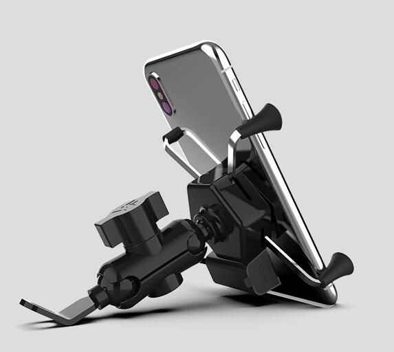 機車手機導航支架多功能防震防水機車USB車載充電手機架騎行