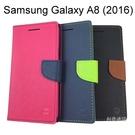 撞色皮套 Samsung Galaxy A8 (2016)