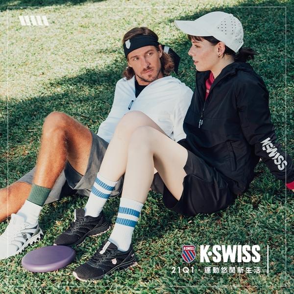 【超取】K-SWISS Court Casper時尚運動鞋-男-白/藍