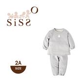 【SISSO有機棉】米米熊好舒適套裝(灰) 2A