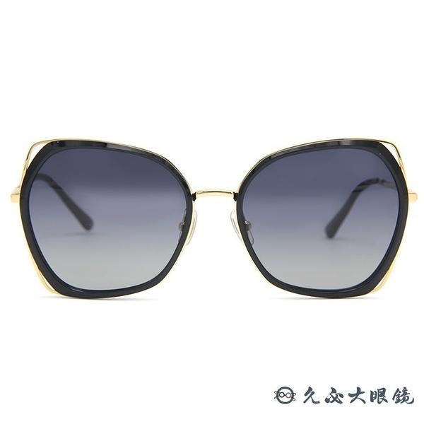 HELEN KELLER 林志玲代言 H8817 N07 (黑-金) 偏光太陽眼鏡 久必大眼鏡