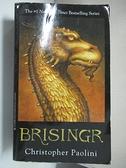 【書寶二手書T2/少年童書_CVB】Brisingr (Inheritance, Book 3)_Christopher Paolini