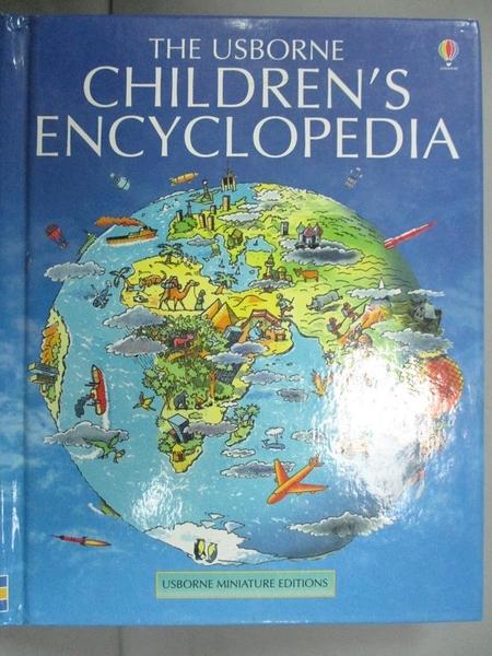 【書寶二手書T4/原文小說_JMK】Mini Children s Encyclopedia (Mini Usborne