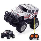 兒童電動遙控車越野車充電遙控迷你汽車玩具吉普車男孩3-6歲 aj6977『紅袖伊人』