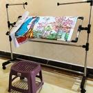 繡花刺繡十字繡的架子清倉繡架大號可調家用支架摺疊通用工具新款ATF 三角衣櫃