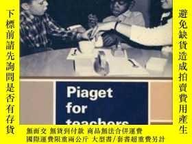 二手書博民逛書店Piaget罕見For Teachers-教師皮亞傑Y436638 Hans G Furth Prentice