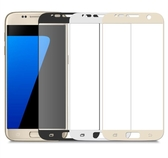 【現貨】三星 Samsung Galaxy J7 plus 2.5D滿版滿膠 彩框鋼化玻璃保護貼 9H