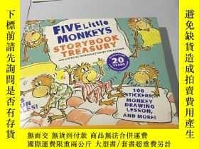 二手書博民逛書店漫畫:Five罕見Little Monkeys Storyboo
