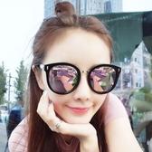 2020墨鏡女潮偏光太陽鏡網紅眼睛圓臉明星款眼鏡防紫外線韓版