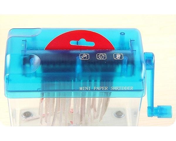 創意手搖小型碎紙機 資料不外洩 個資保密 安全方便【AE07045】i-Style居家生活