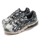 Asics 休閒鞋 Gel-Kayano 5 KZN Tree Camo 男鞋 米 綠 運動【ACS】 1021A433200