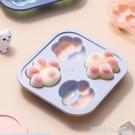凍冰塊模具制冰盒可愛卡通創意硅膠網紅塑料雪糕神器帶蓋輔食冰格