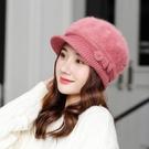 女秋冬季毛線帽 不含圍巾