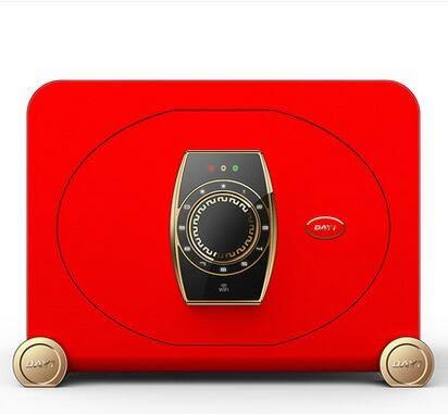 幸福居*阿裏智能保險箱家用小型 密碼辦公保險櫃 全鋼迷你保管箱30cm 2(主圖款)