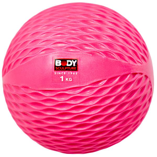 1公斤軟式藥球.健身球啞鈴訓練1KG彈力球砂球.沙包沙袋Toning Ball呆球推薦哪裡買ptt【BODY SCULPTURE】