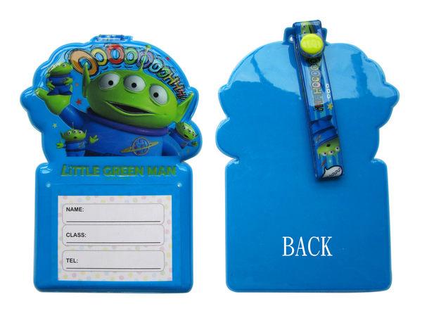 【卡漫城】 三眼怪 名片套 單入 ㊣版 識別證套 行李吊牌 姓名套 卡片 掛牌 吊牌 Alien 玩具總動員