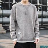 毛衣男厚款潮流寬鬆打底衫2019秋冬季高領線衣男士針織衫長袖上衣