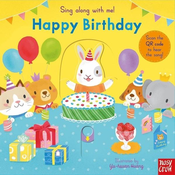 Sing Along With Me! Happy Birthday 生日快樂 童謠歌唱操作書(英國版)