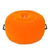 送打氣筒 充氣墊-獨特把手設計 圓型坐墊 充氣坐墊 便攜式 不佔空間' 可收納 便攜坐墊