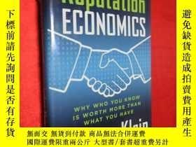 二手書博民逛書店Reputation罕見Economics: Why Who Y