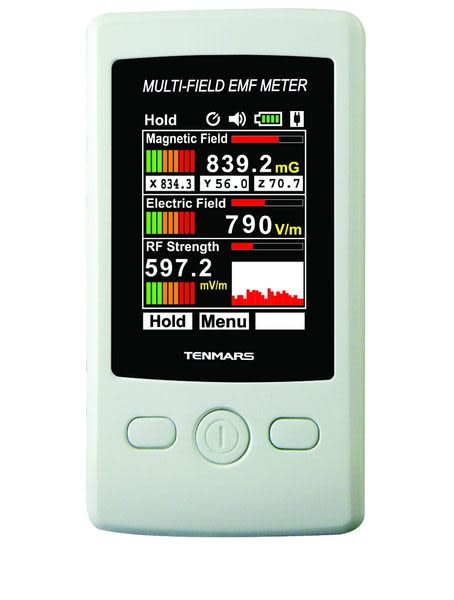 世駿TENMARS TM-190 低頻 三軸 多功能磁場電磁波測試器(高斯計)