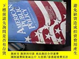 二手書博民逛書店b0043精裝american罕見public policy(a
