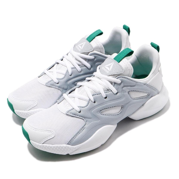 Reebok 慢跑鞋 Sole Fury Adapt 灰 白 運動鞋 女鞋 【PUMP306】 DV8452