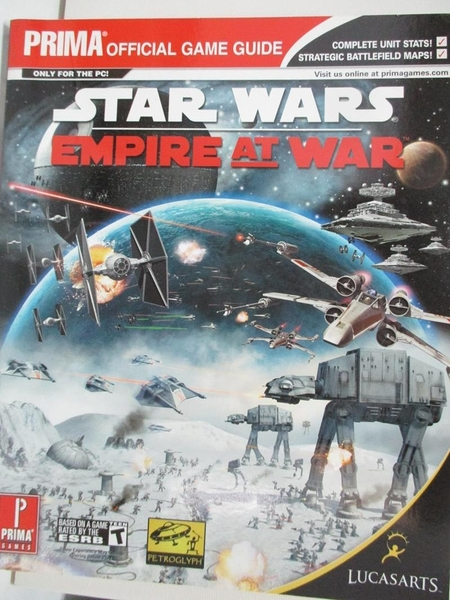 【書寶二手書T8/電玩攻略_DNK】Star Wars: Empire at War: Prima Official Game Guide_Knight, Michael