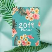 云木雜貨 2019年計劃表A4日程本手賬本 無年限自填式計劃本月計劃