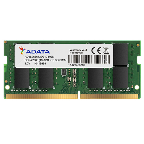 ADATA 威剛 32G 32GB DDR4 2666 筆電 筆記型電腦用 記憶體 DDR4 2666 SO-DIMM