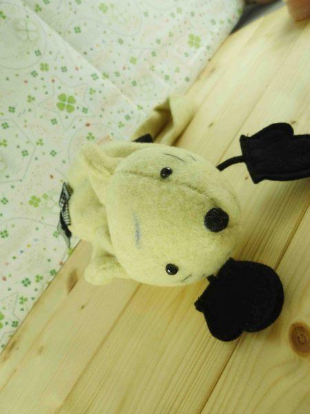 【震撼精品百貨】老鼠~造型提袋-黃色(小)