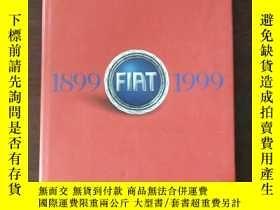二手書博民逛書店FIAT:罕見1899-1999 ONE HUNDRED YEARS OF FIAT, PRODUCTS, FAC