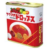 J-佐久間綜合水果糖罐 75g【愛買】