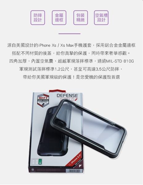 美國軍規 防摔認證 iPhone XS XS Max 手機殼 保護殼 防摔殼 軍規防摔 時尚潮流《贈無線充電盤》