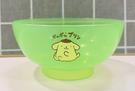 【震撼精品百貨】Pom Pom Purin 布丁狗~三麗鷗布丁狗塑膠碗/美耐皿碗-透明綠#02888