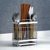 碗盤架 304不銹鋼筷子筒筷架掛式餐具筒瀝水架筷籠筷子簍廚房收納置物架