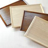 雙十二年終盛宴日式長方形實木托盤木制面包托盤木質點心托盤茶水酒店托盤木盤子   初見居家