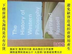 二手書博民逛書店THE罕見HISTORY OF WESTERN PHILOSOP